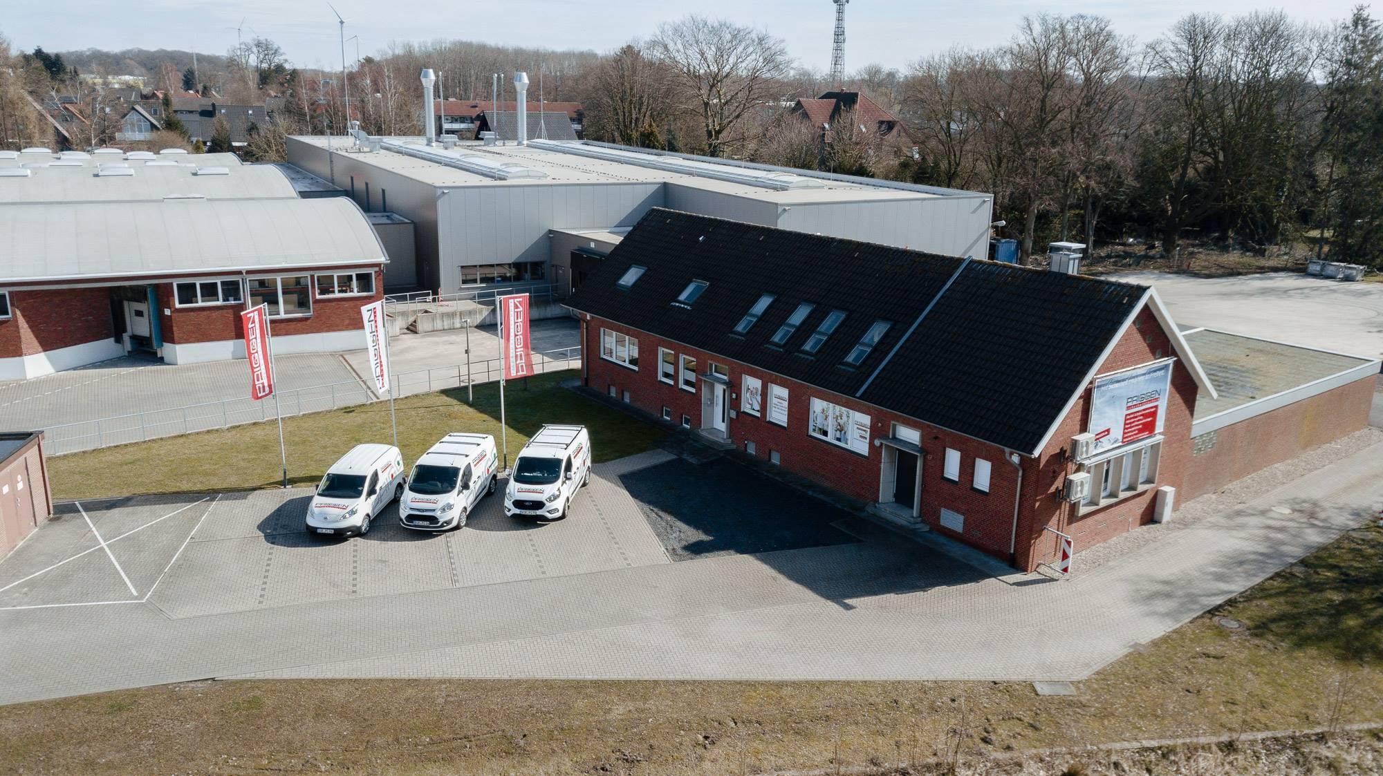 Priggen Sicherheitstechnik Ahaus Hauptsitz Alarmanlagen Brandmeldeanlagen Beratung